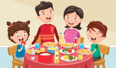 ארוחה משפחתית